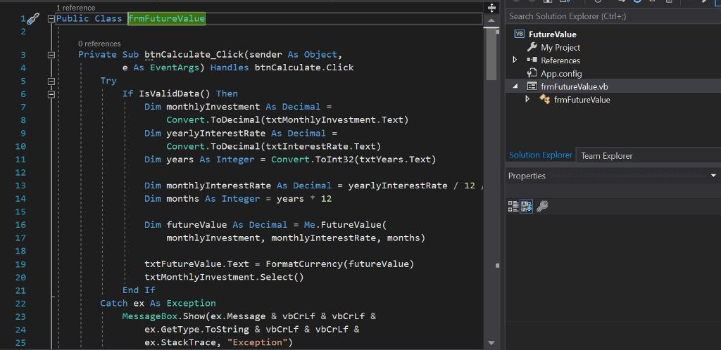 Solved: Using Visual Basic And Visual Studio Please Provid
