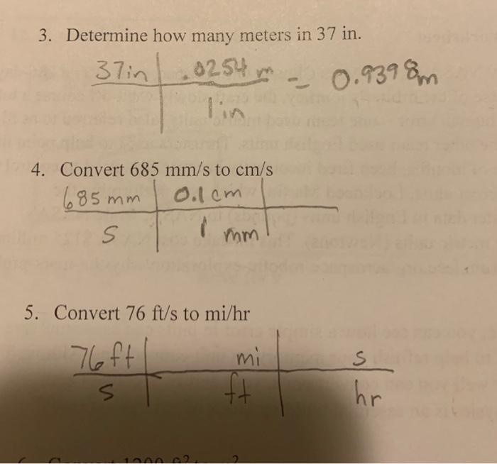 Determine How Many Meters In 37 Lia 4 Convert 685 Mm