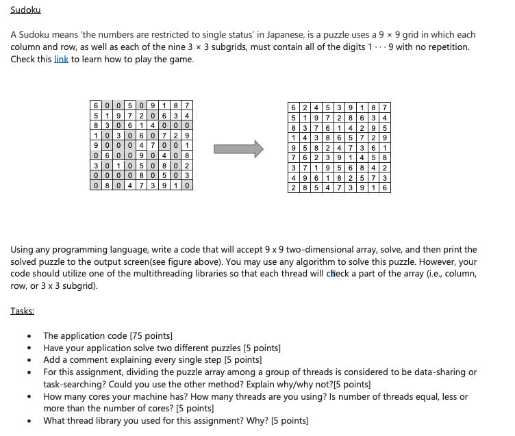 Solved: Please Do Sudoku In Python And Please Explain Bull