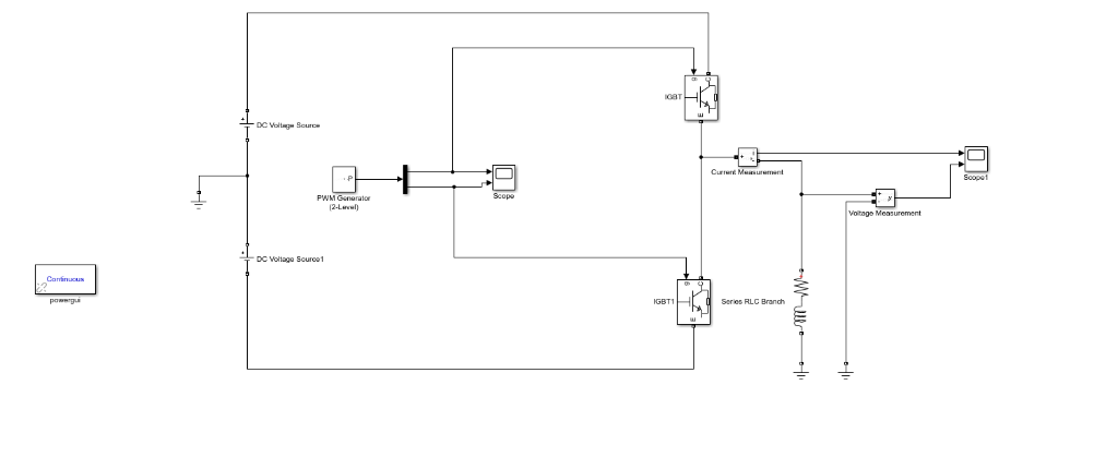 Solved: Produce A DC To AC Inverter Model In Simulink Here