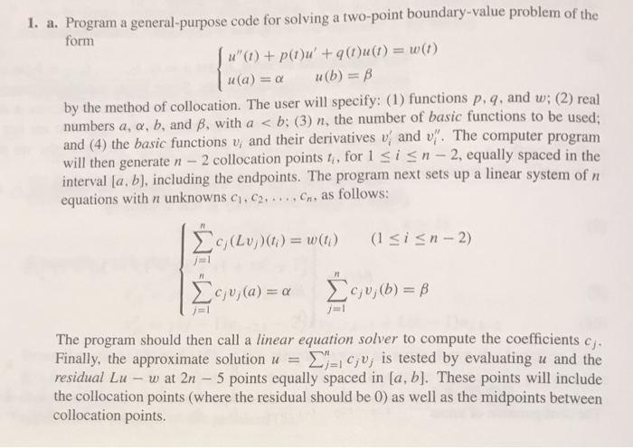 Please Use Matlab To Solve These And Provide Code