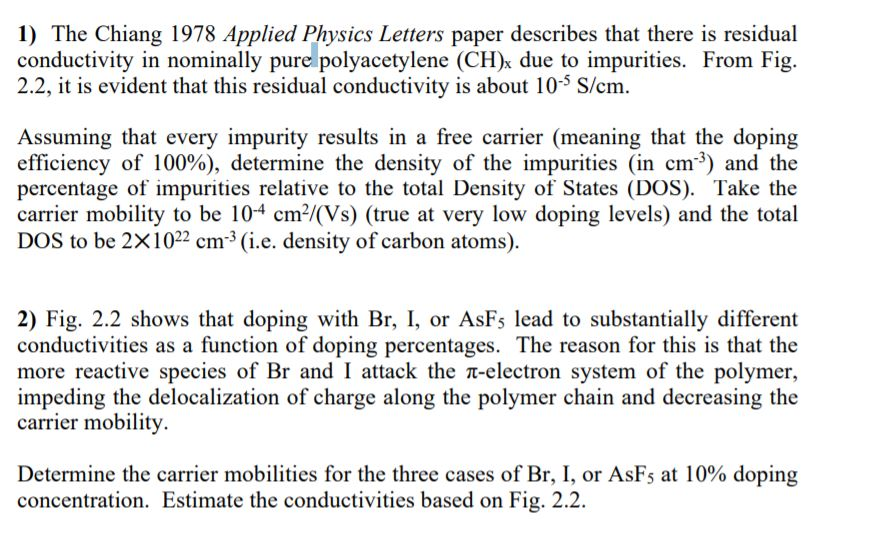 1) The Chiang 1978 Applied Physics Letters Paper D