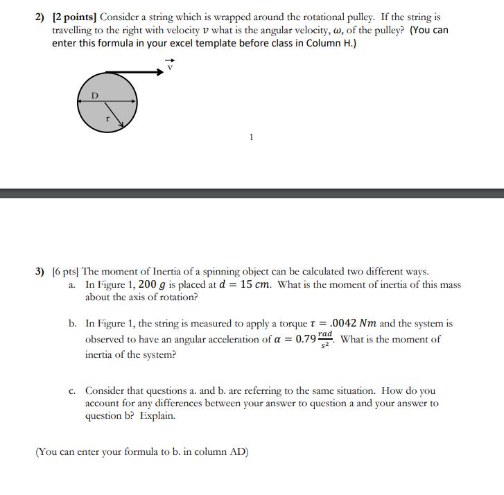 Solved: Lab #9: Pre-Lab Worksheet Rectangular Block In Lab ...