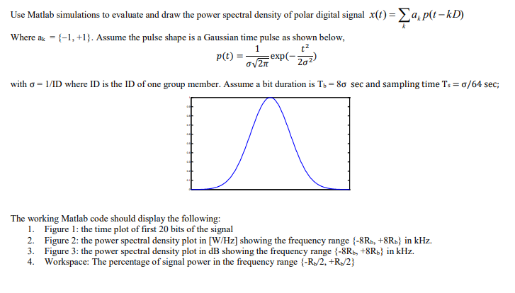 Power Spectral Density Matlab