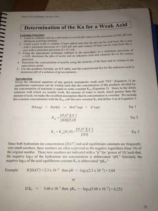 chem 1212 lab manual revised 11co16 determination chegg com rh chegg com Chem Lab Equipment Chem Lab Clip Art
