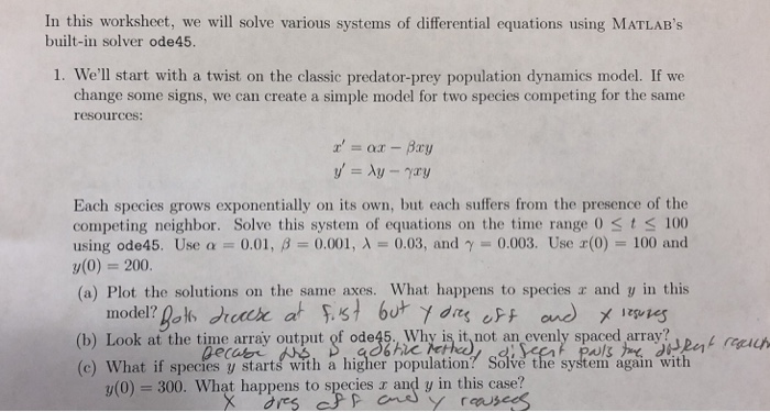 Population Dynamics Worksheet Answers - Worksheet List
