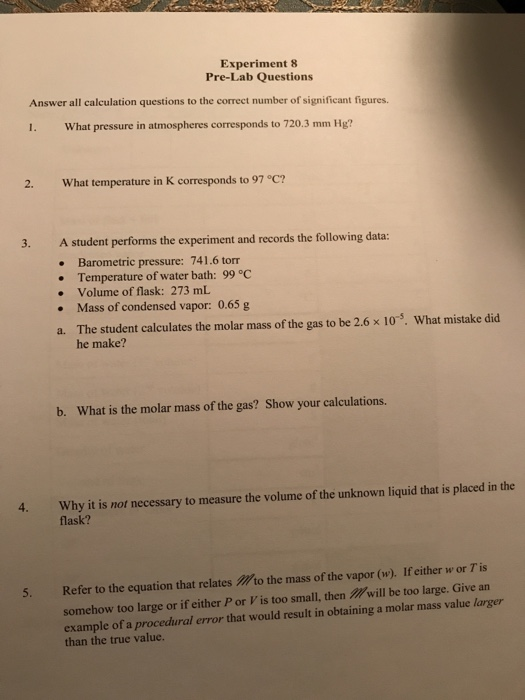 solved  experiment 8 pre