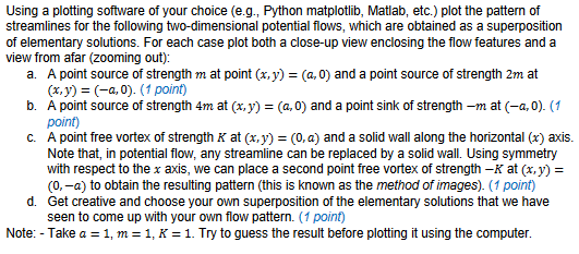 Using A Plotting Software Of Your Choice (e g , Py