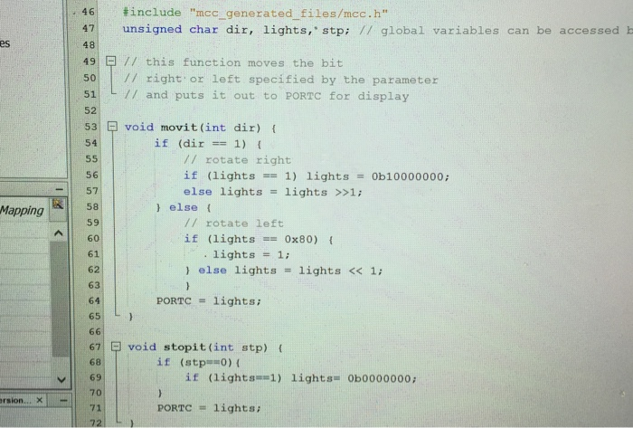 Help With Program 2! Using MPLAB X IDE V3 51 And T