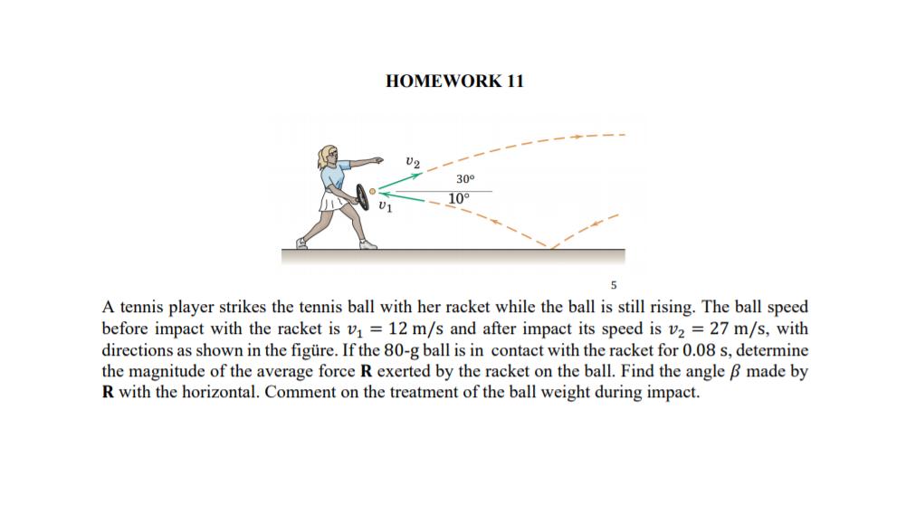 racket homework
