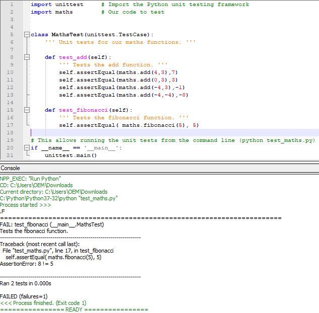 Solved: Import Unittest # Import The Python Unit Testing F