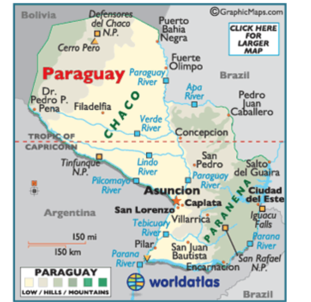 Picture of: Solved Use Map 9 Ecuador A Site Characteristic Of Paragu Chegg Com
