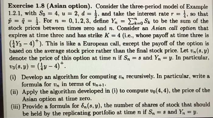 Asian option definition