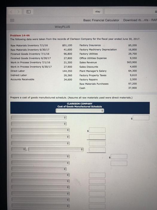 Ebay download inventory