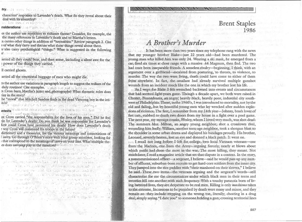 A brothers murder brent staples essayhtml