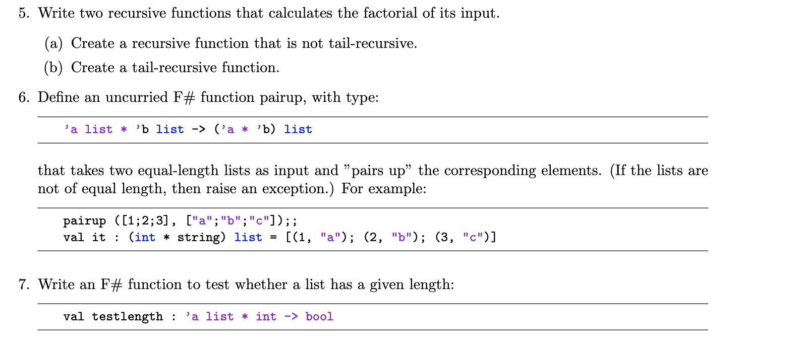 solved 5 write two recursive functions that calculates t