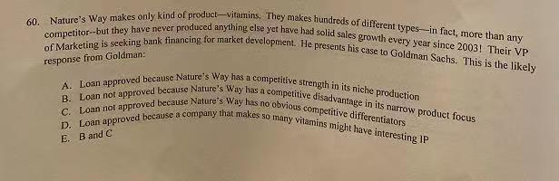 Solved: Roduct-vitamins  They Makes Hundreds Of Different