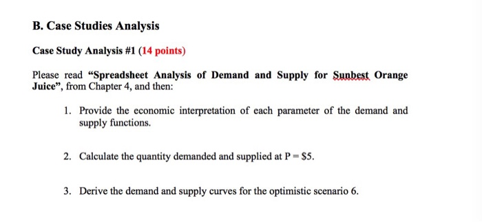 Analysis Case Study