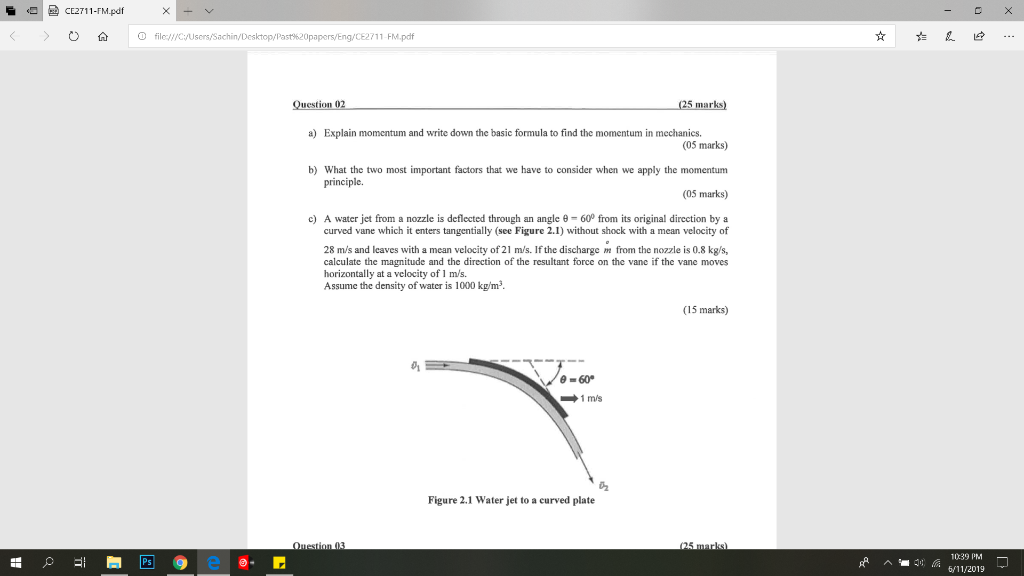 Solved: CE2711-FM pdf O File://C/Users/Sachin/Desktop/Past