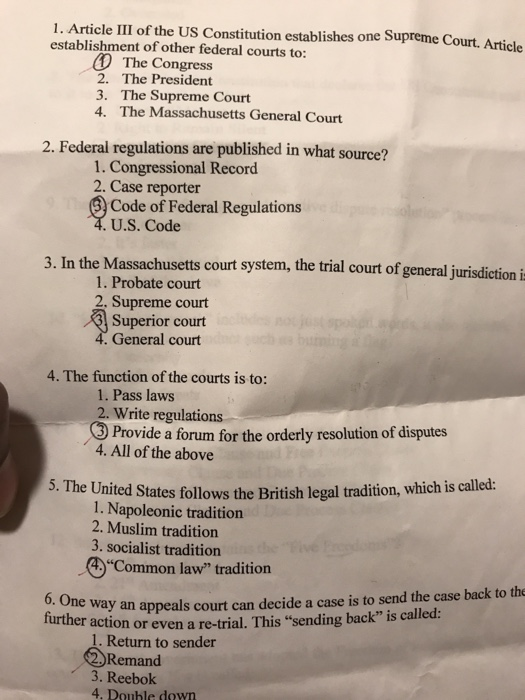 constitution quiz questions and answers