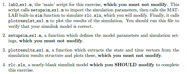 Solved: Please Construct A Matlab Simulink Model For The F