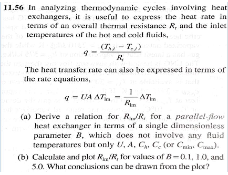 Solved 11 56 In Analyzing Thermodynamic Cycles Involving Chegg Com