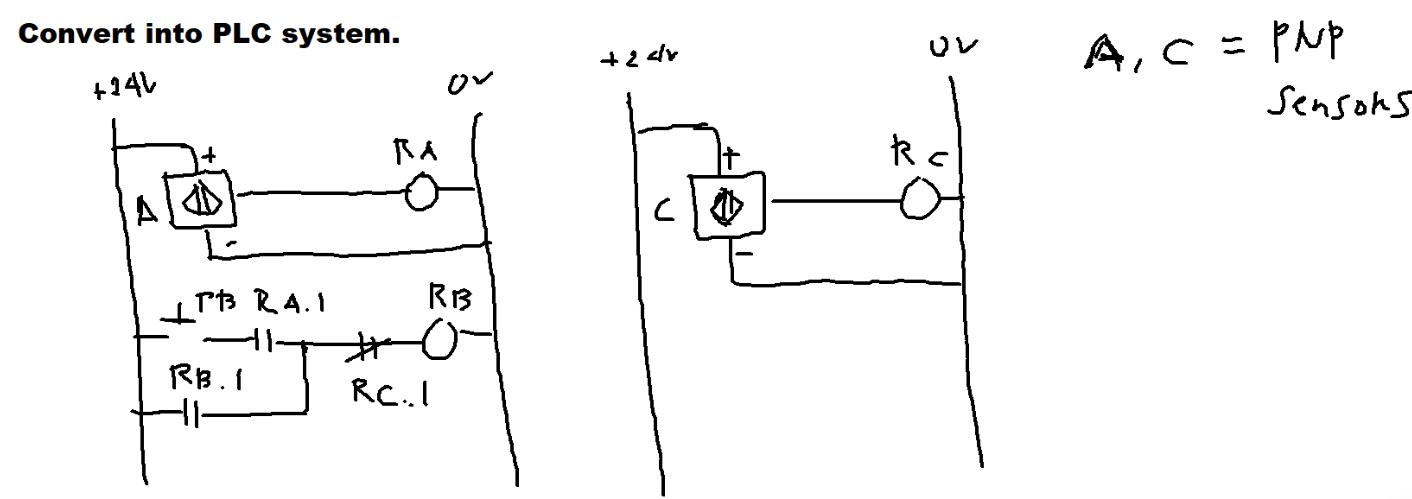 Please Help Me Guys It Needs The I O Plc Wiring D Chegg Com