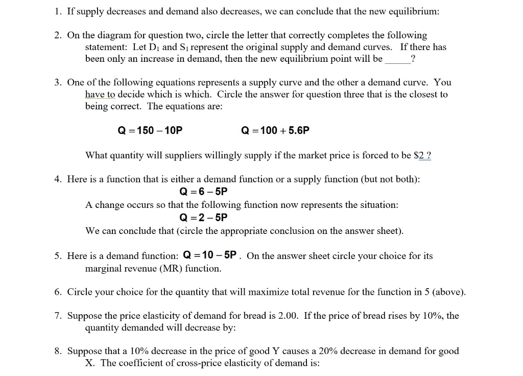 Solved The Income Elasticity Of Demand For A Good Is 0 5