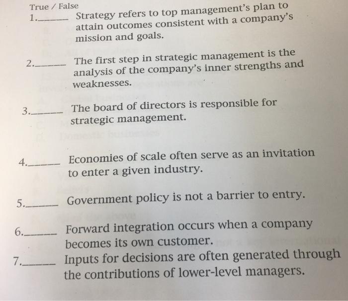 strategic analysis example pdf