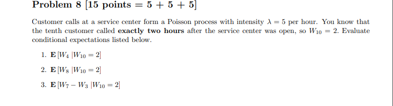 Poisson process homework solutions research proposal on finance related topic
