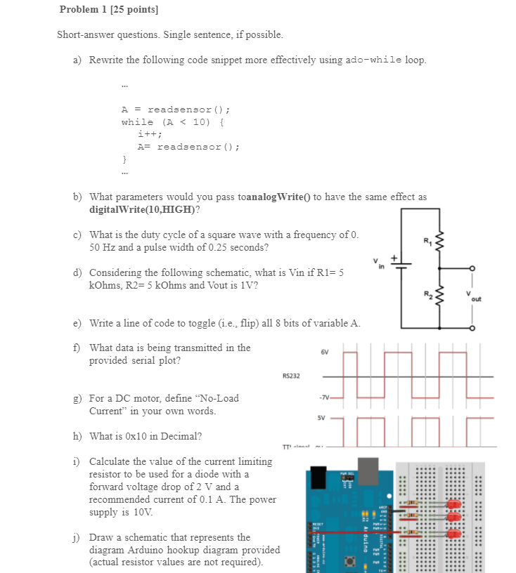 Solved Problem 1 25 Points Short Answer Questions Sing Chegg Com