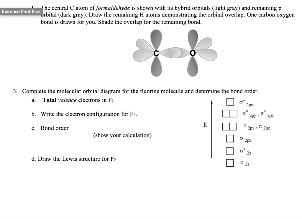 Solved 1 For Each Set Of Orbitals Indicate Whether The Chegg Com