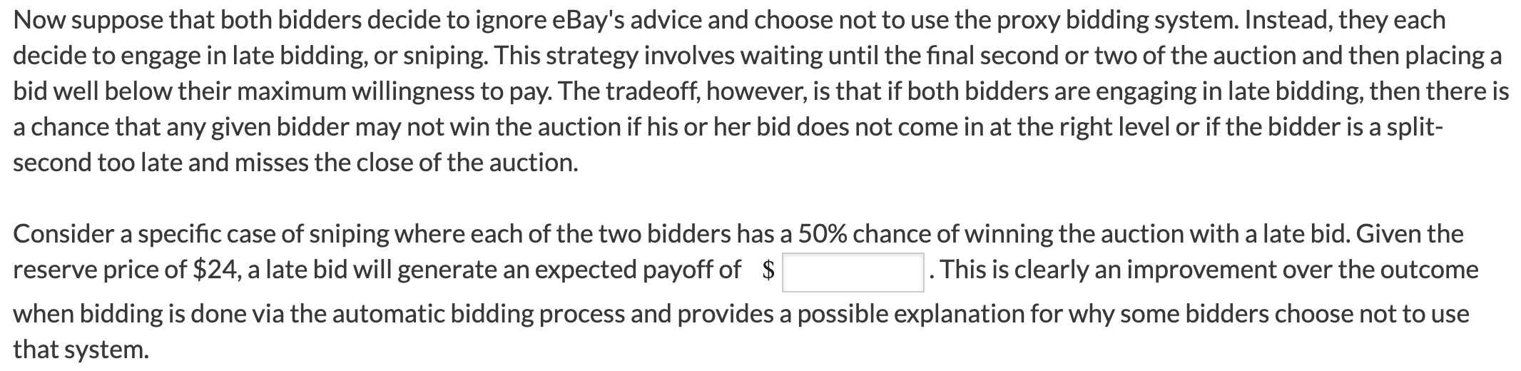 Suppose Two Bidders Are Participating In An Auctio Chegg Com