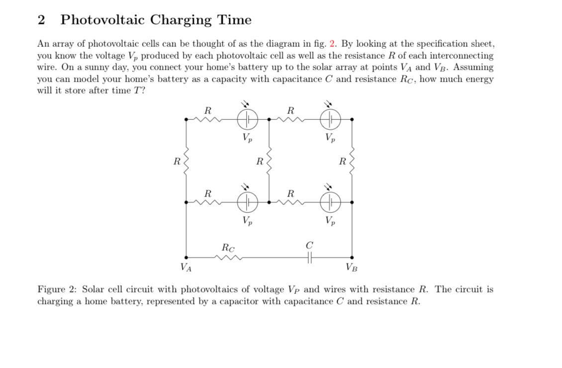 Photovoltaic Cell Diagram The Photovoltaic Cell Has A