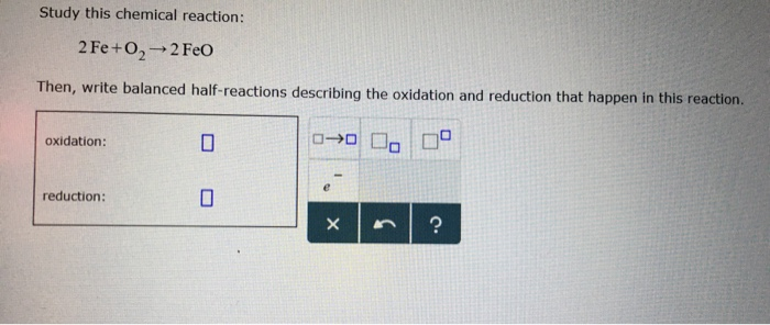 redox reaction examples with answers