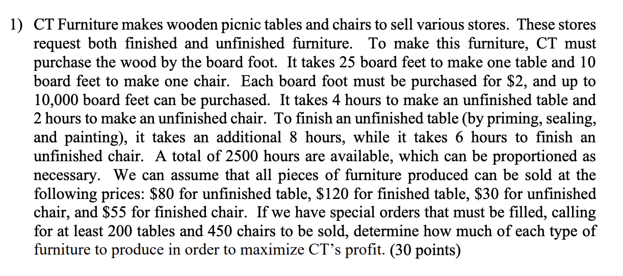 Ct Furniture Makes Wooden Picnic Tables, Unfinished Furniture Ct
