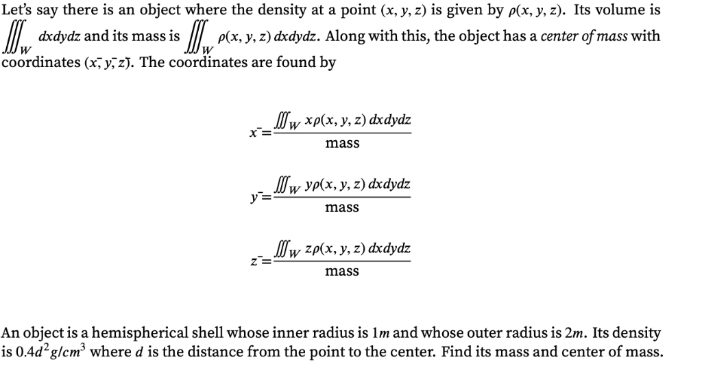 Solved: If It Helps This Is A Multivariable Calculus Quest