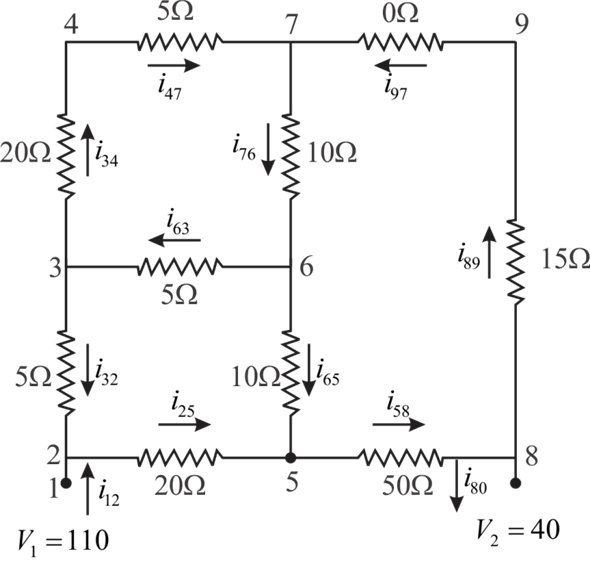 solved  solve the circuit in fig  p12 25 for the currents