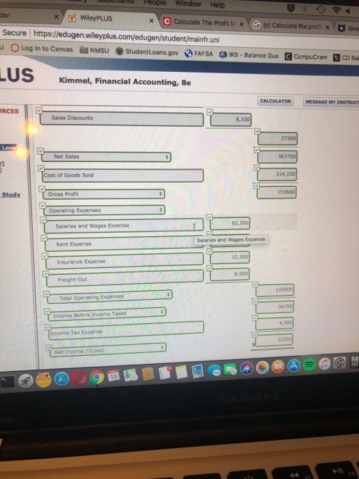 Solved: Studentloans.gov FAFSA EIRS - Balance Due CompuCra ...