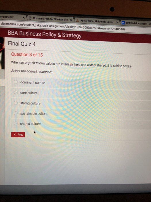 Pdf questions and answers business quiz