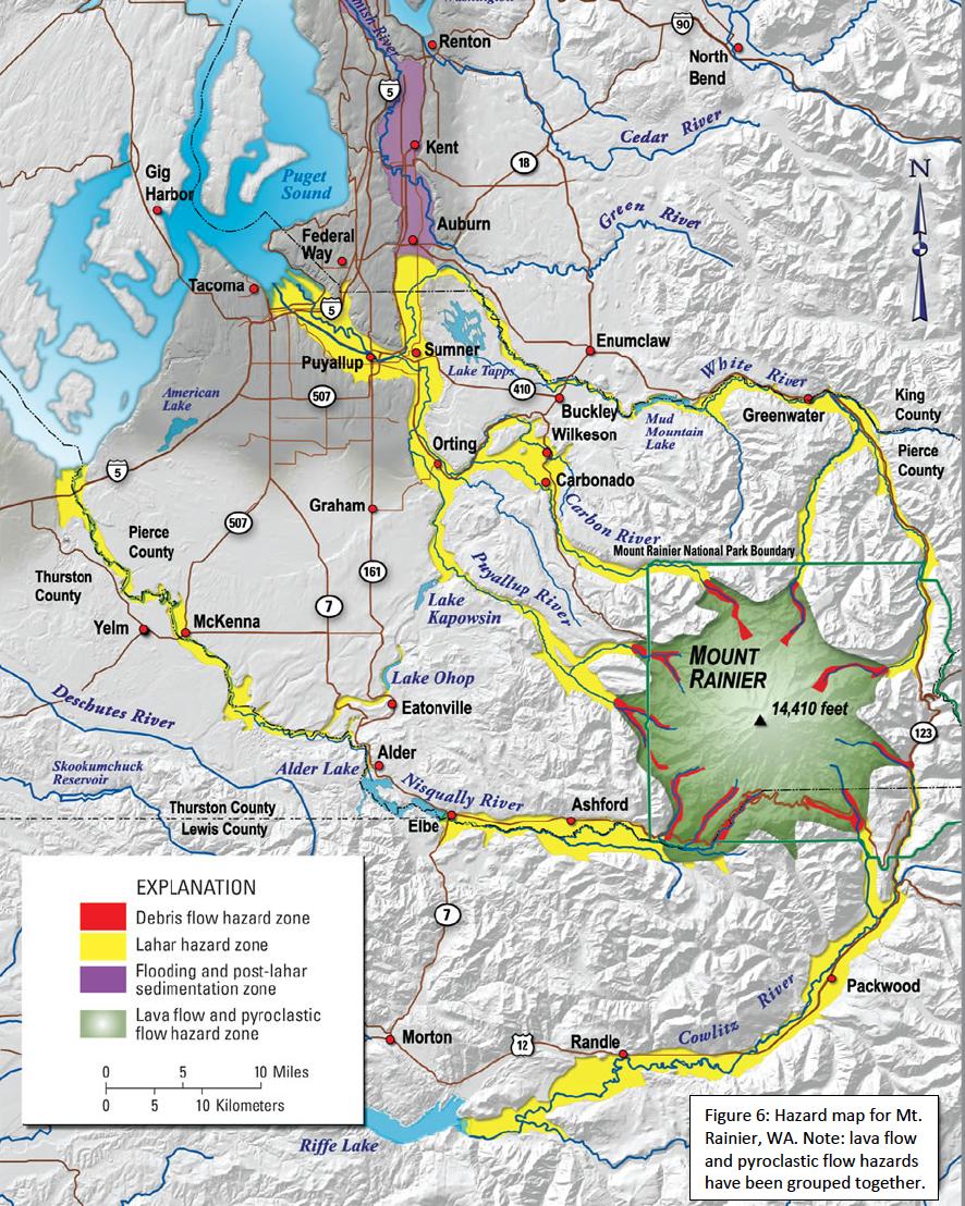 Carbon River Renton North Bend Kent Cedar River N Gig Harbor Puget Sound River Auburn Green Federal Way Tacoma Enumclaw Puya