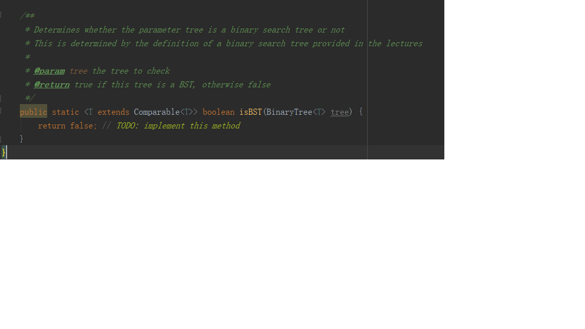 Solved: Question: 1  Implement The TreeIterator Class, So