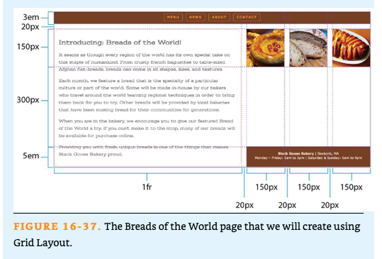 Solved Topic Web Design Css Grid Layout Module Create A Chegg Com