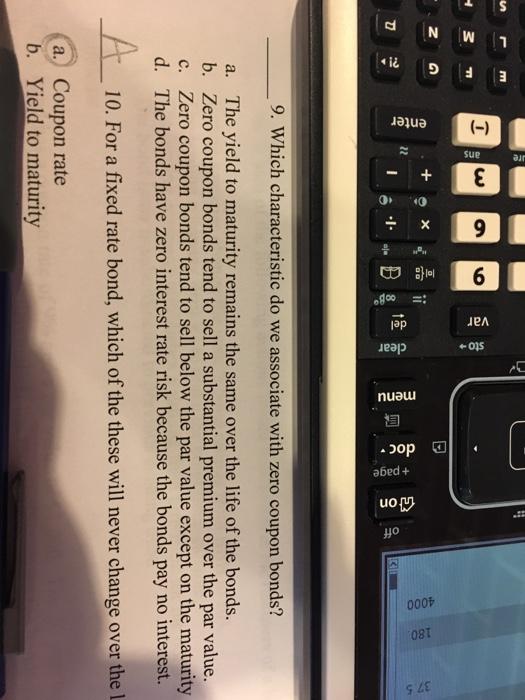 Yield To Maturity Calculator Zero Coupon