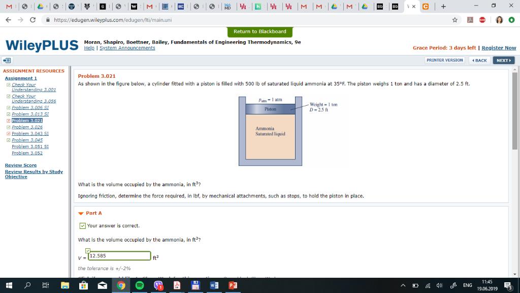M M M C + M https://edugen.wileyplus.com/edugen/lti/main.uni C Return to Blackboard WileyPLUS Bailey, Fundamentals of Enginee