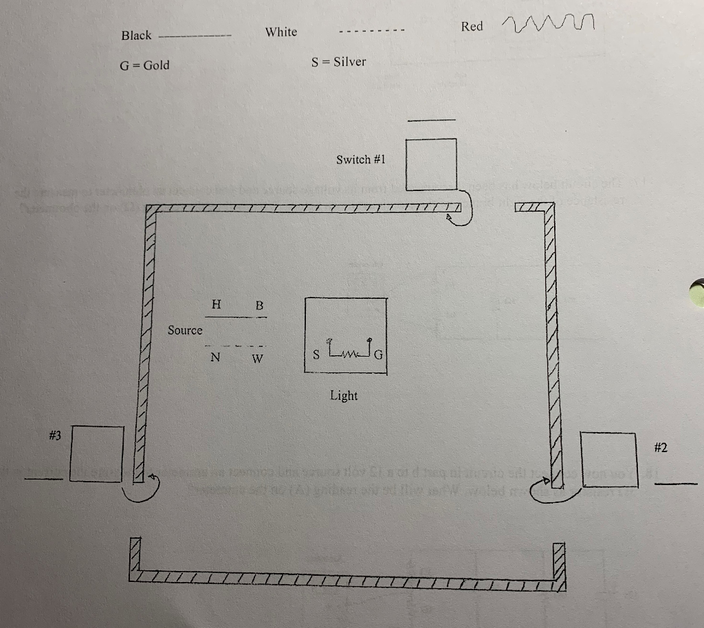 Complete The Wiring Diagram Below In Which A Light ... on