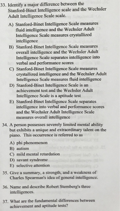stanford binet intelligence scale sb5 iq test