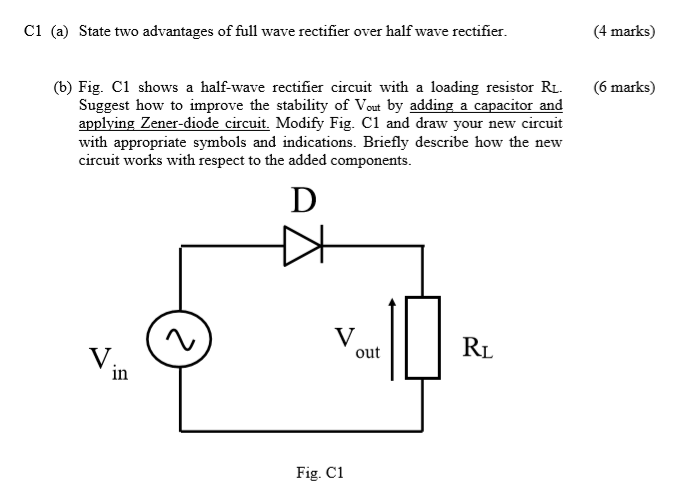 images?q=tbn:ANd9GcQh_l3eQ5xwiPy07kGEXjmjgmBKBRB7H2mRxCGhv1tFWg5c_mWT Draw The Circuit Diagram Of A Half Wave Rectifier And State How It Works
