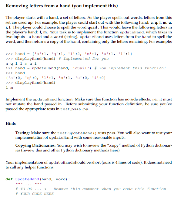 Solved: Do The Following In Python 3 Please, I Have Also P