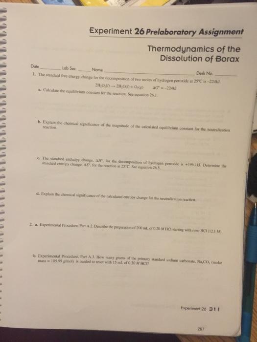 Thermodynamics Lab Manual Pdf